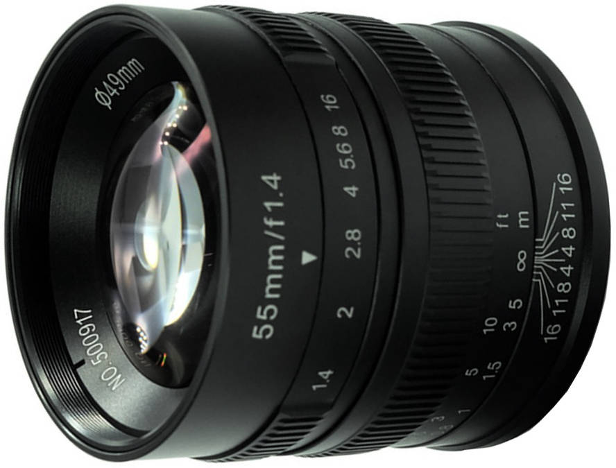 7artisans 55 mm F1.4 (for Sony E)