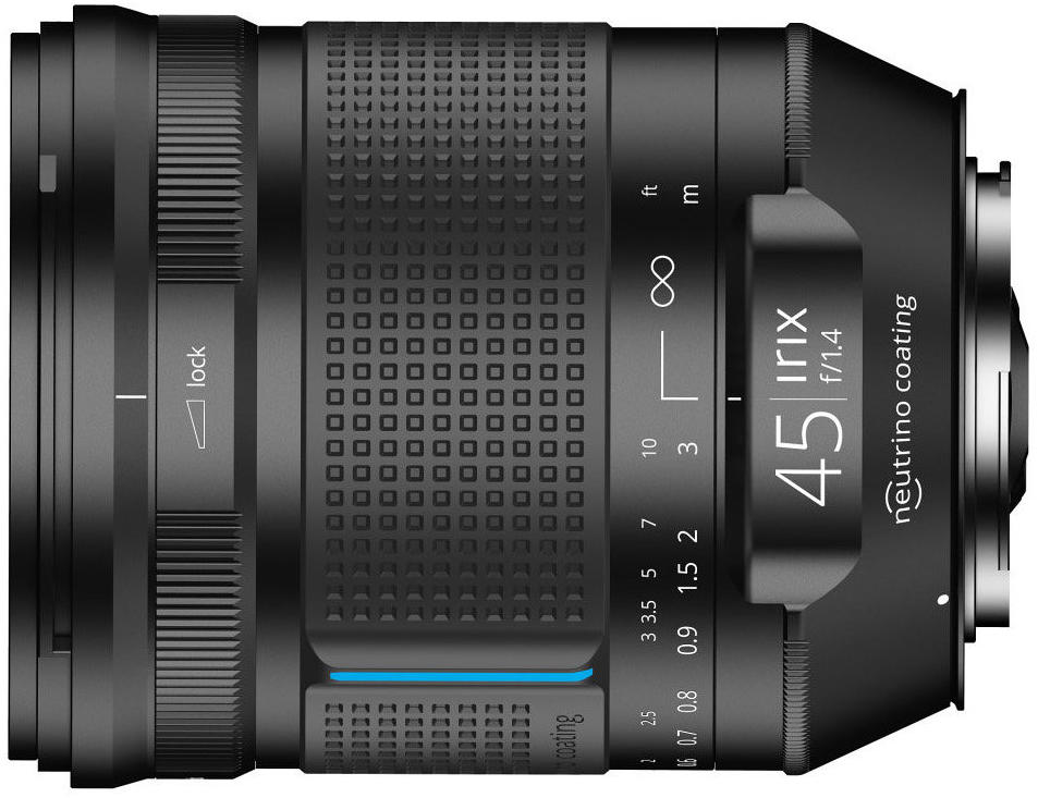 Irix 45mm f/1.4 (for Canon EF)