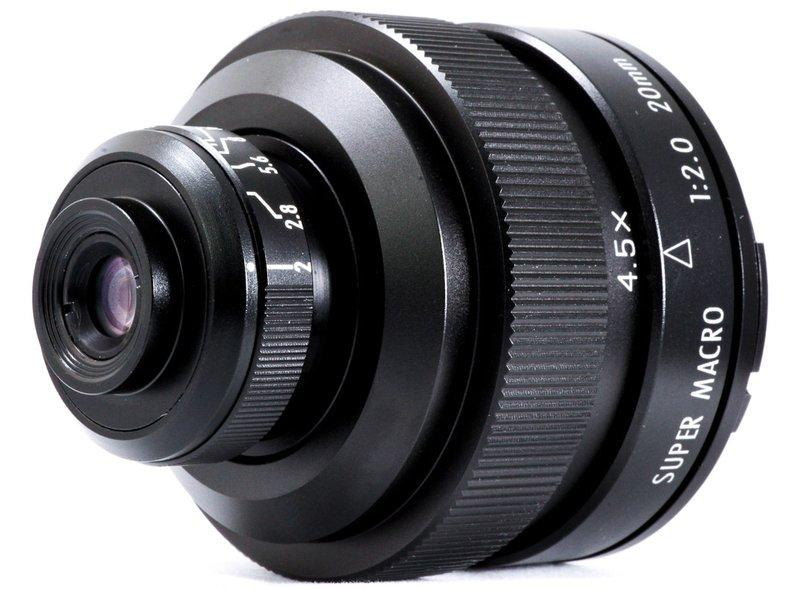 ZY Optics Mitakon 20mm f/2 4.5x Super Macro (per MQT)