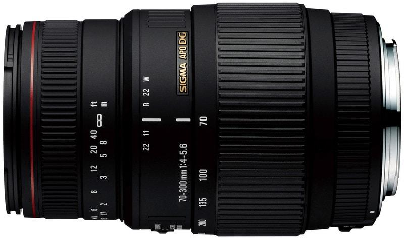 Sigma 70-300mm F4-5.6 APO DG Macro (for Sony A)
