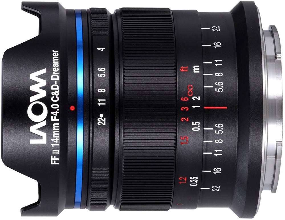 Venus Optics Laowa 14mm f4 FF RL Zero-D (for Leica M)